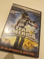 Dvd   TEAM AMERICA ( LA POLICIA DEL MUNDO )Edicion especial coleccionista