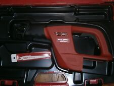 HILTI WSR 650-A  24V cordless reciprocating saw (TOOL ONLY WITH CASE)