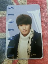 Super junior Sungmin elf japan fanclub  Photocard Kpop K-pop
