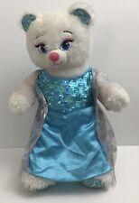 Build a Bear Workshop Disney Frozen Bear  Elsa with Gown