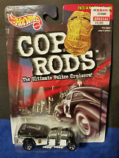 Hot Wheels Cop Rods 6+1999 Boys 1:64 Cars Police Rod Way 2 Fast Indianapolis IN.