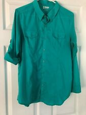 Men's Alpine design long sleeve button-down shirt L