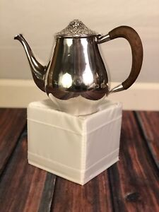 Vintage Towle Contessina Silverplate Repousse Coffee Pot 1967