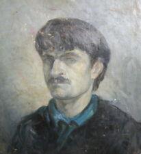 European Art, Vintage Oil Painting, Male Portrait