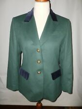 COUNTRY CASUALS WOOL & CASHMERE HUNTSMAN /HACKING STYLE JACKET  SIZE UK 14