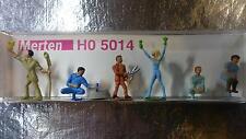* Merten H0 5014 Figure Pack Gardeners Set 6 Figures 1:87 H0 Scale