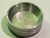 Machinist ash tray Machined out of aluminum billet engraved lathe project