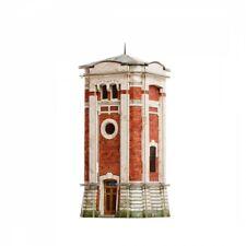 Building WATER TOWER II. HO Scale 1/87 Railway Train Model Kit Cardboard