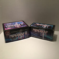 Mind Trap 1 and 2 Games It Will Challenge the Way You Think & See 1991 1997