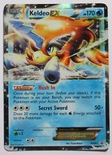 Keldeo ex - BW61 - Ultra Rare Pokemon Card