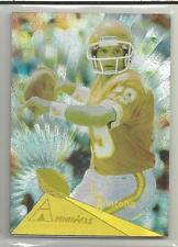 1994 Pinnacle Football Joe Montana Trophy Collection Parallel Card # 102