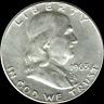 "A 1963 D Franklin Half Dollar 90% SILVER US Mint ""Average Circulation"""