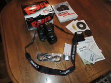 NEW Open Box Canon Rebel XS EOS 10.1MP KIT: 18-55mm Lens battery grip MINT