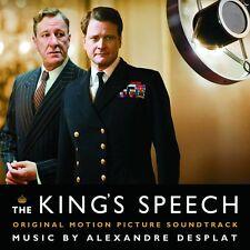 The Kings's Speech Soundtrack CD NEW SEALED 2010 Alexandre Desplat
