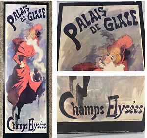 Palais De Glacé  champs elysees Poster Print Artbeats 2003 Ice Skating