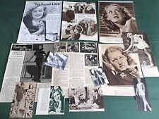 ANNE SHIRLEY - FILM STAR - CLIPPINGS /CUTTING PACK