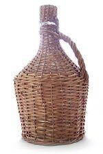 Bonbonne en verre 15L  avec corbeille en osier ✿  Demijohn pour jus, moût et vin