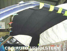 Holden fits HQ HJ HX HZ WB  UTE 1 tonner Black velour headlining NEW  rooflining