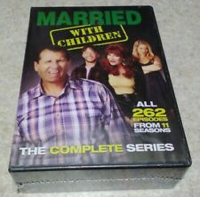 SEALED MARRIED WITH CHILDREN DVD - THE COMPLETE SERIES [21 DISCS] - NEW UNOPENED