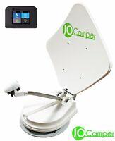JoCamper Mobilsat 80cm Vollautomatische Satanlage SAT TWIN Wohnmobil TV