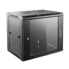 PrimeCables® 9U Wall Mount Network Server Cabinet Rack, 2 AC Powered Ventilation