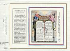 sg feuillet CEF France bloc 11 Philexfrance déclaration des droits homme 1989