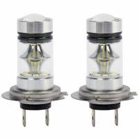 1X(1 paire LED de haute puissance H7 ampoule 100W 20LED phares antibrouillard GH