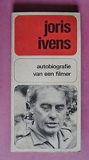 (R13_2_3) Joris Ivens autobiografie van een filmer - 1970 (Niederländisch)
