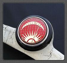 Vw Deluxe Horn Push Button Sun & Moon Rojo Negro Split Bus Beetle K Ghia T1 T2