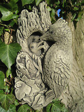 Woodpecker  Wall Plaque stone garden ornament | Many more ornaments in my shop!