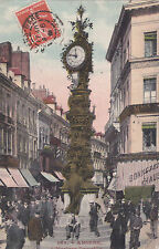 AMIENS 369 l'horloge dewailly mag. chaussure timbrée 1904