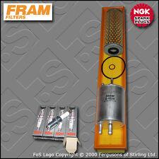 SERVICE KIT MERCEDES C180 W203 2.0 16V FRAM OIL AIR FUEL FILTER PLUG (2000-2002)