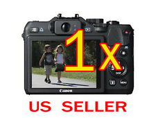 1x Canon PowerShot G15 Camera Clear LCD Screen Protector Guard Shield Film
