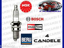 4 CANDELE ACCENSIONE OPEL ZAFIRA 1.6 CNG METANO 69KW-94CV DAL 07/2005>