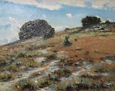 Auguste Roure huile sur toile paysage de provence avignon