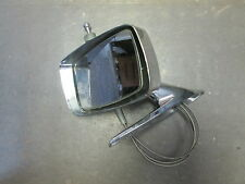 NOS 1970 FORD TORINO OUTER MIRROR ASSEMBLY LH REMOTE CHROME