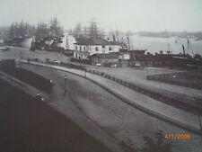 Hamburg - Fotografien von Höge um 1870 - Landungsbrücke/Fährhaus und 2.Vorsetzen