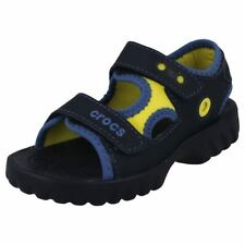 Scarpe sandali Crocs per bambini dai 2 ai 16 anni chiusura a strappo
