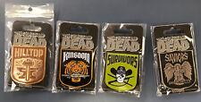 The Walking Dead Survivors Saviors Kingdom Hilltop Faction Pin SET x4