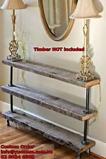 Rustic Industrial Furniture Vintage Iron Pipe DIY Hall Table Legs Silver DT024