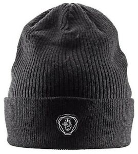 Official Scania Griffin Black Truck Beanie Cap Hat One Size Men's Mens New GIFT