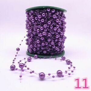 Artificial Pearl Beads Chain Garland DIY Wedding Party Decoration & Accessories