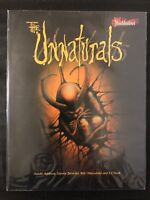 THE UNNATURALS - RARE BLOOD SHADOWS RPG SOURCE BOOK! WEST END GAMES