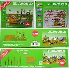 Siku Farmer 5699 Zubehörpackung Feldwege und Wald für SIKU World, 1:50, OVP