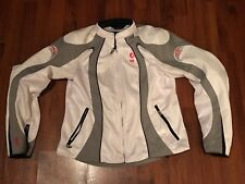 Womans Shift Motorcycle Jacket Size Large Pre Owned With Padding