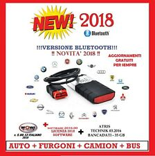 DIAGNOSI AUTO MULTIMARCA DELPHI 2018 BLUETOOTH WURTH 5.00.12 CON FIAT 500 X