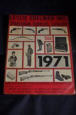 1971 Edelman Sportsman Supply Catalog Hunting Fishing gun rifle pistol lure fly