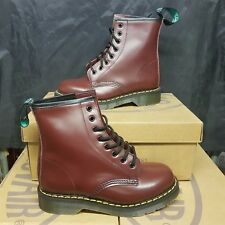 SOLOVAIR 8 Eye Derby Men's Boots Oxblood UK 11 EUR 45 (pv:160£)