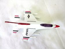 "USAF-4.25"" MILITARY JET FIGHTER, DIECAST METAL,PULL BACK ACTION,"