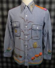 b33f7ee2ed 1960s 100% Cotton Vintage Casual Shirts for Men